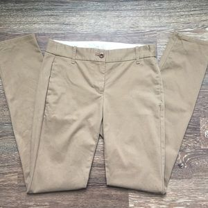 J.Crew tan khaki Bennett Chinos cotton 0